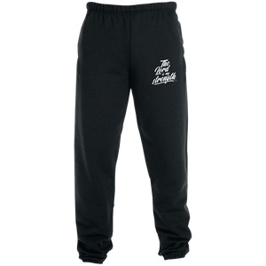 The Lord Is My Strength Pants Sweatpants with Pockets - Shop Love God