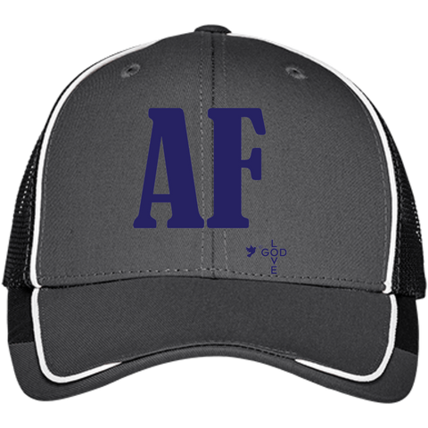 Air Force Colorblock Mesh Back Cap - Shop Love God