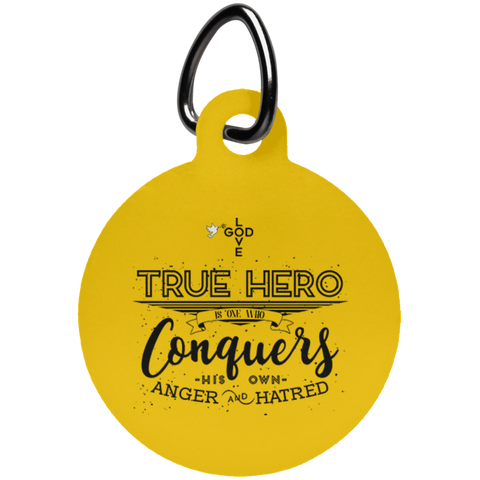 True Hero Circle Pet Tag