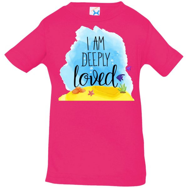 I Am Deeply Loved Infant Jersey T-Shirt - Shop Love God