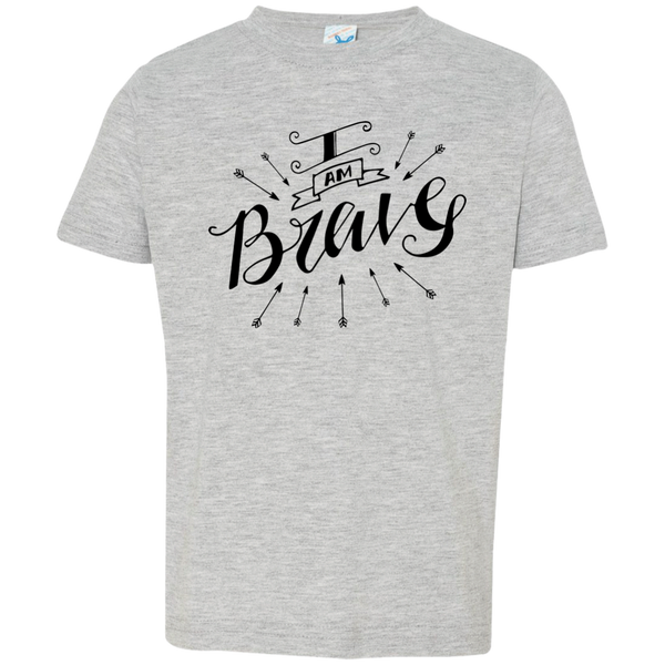 I Am Brave Kids Jersey T-Shirt - Shop Love God