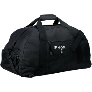 Love God Basic Large-Sized Duffel Bag - Shop Love God
