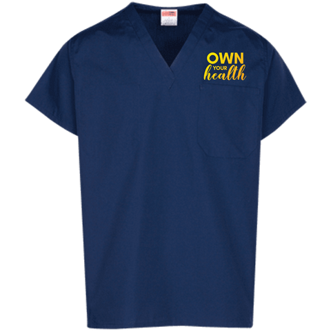 Own Your Health Scrub Top