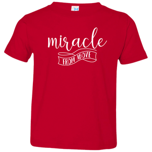 Miracle From Above Kids Jersey T-Shirt - Shop Love God