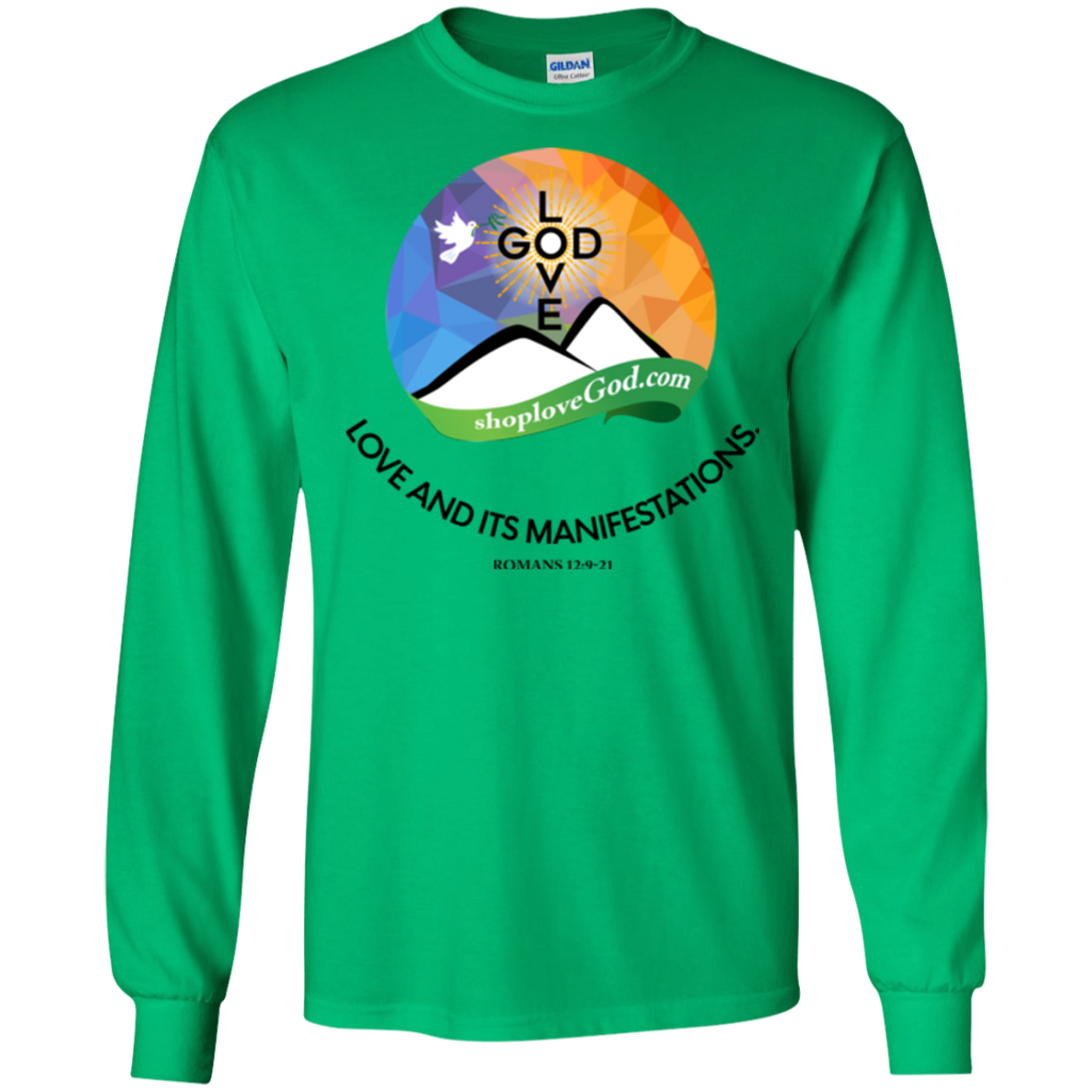 Love And Its Manifestations Ultra Cotton Long Sleeves - Shop Love God