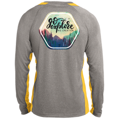 Go Explore Long Sleeve Colorblock Poly T-Shirt - Shop Love God
