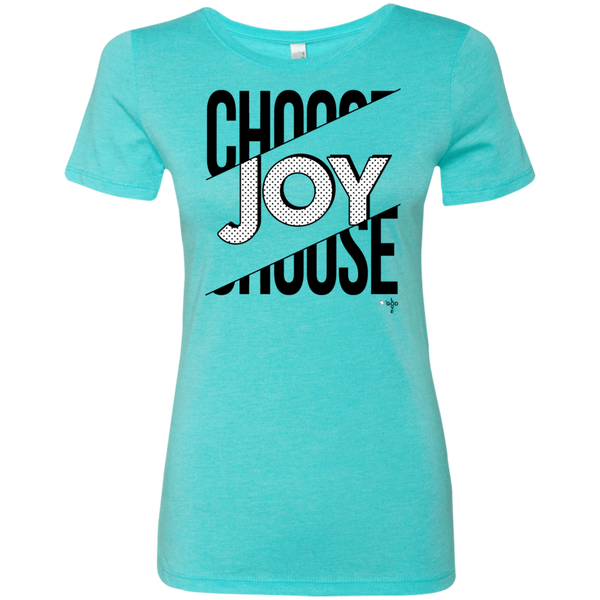 Choose Joy Ladies' Triblend T-Shirt - Shop Love God