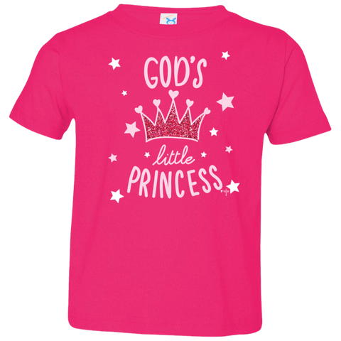 God's Princess Toddler Jersey T-Shirt - Shop Love God