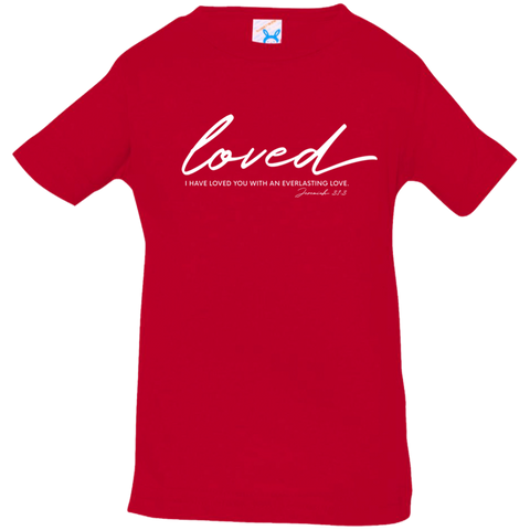 Loved Infant Jersey T-Shirt - Shop Love God
