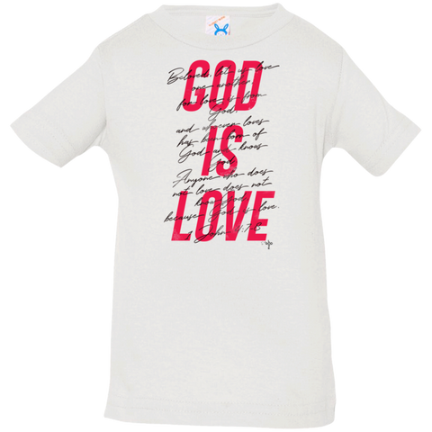 God Is Love Infant Jersey T-Shirt - Shop Love God