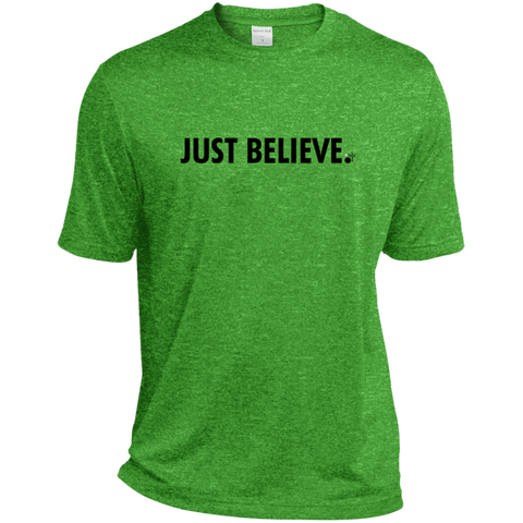 Just Believe Heather Dri-Fit Moisture-Wicking T-Shirt - Shop Love God