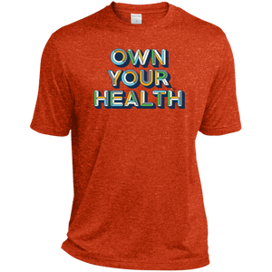Own Your Health II Heather Dri-Fit Moisture-Wicking T-Shirt
