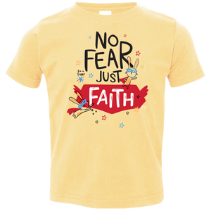 Just Faith Toddler Jersey T-Shirt - Shop Love God
