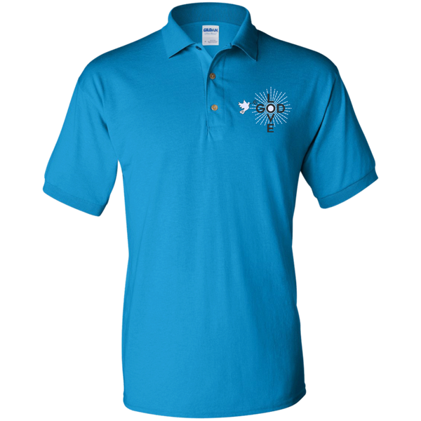 Love God Jersey Polo Shirt - Shop Love God