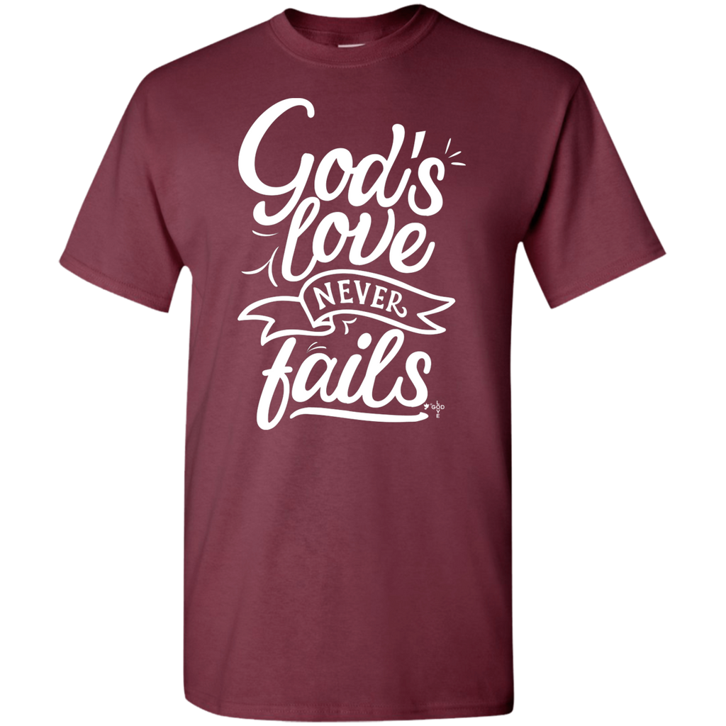 God's Love 5.3 oz 100% Cotton T-Shirt - Shop Love God