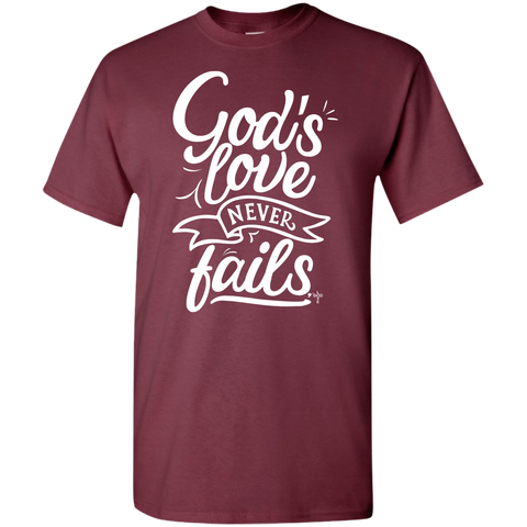 God's Love 5.3 oz 100% Cotton Youth T-Shirt - Shop Love God