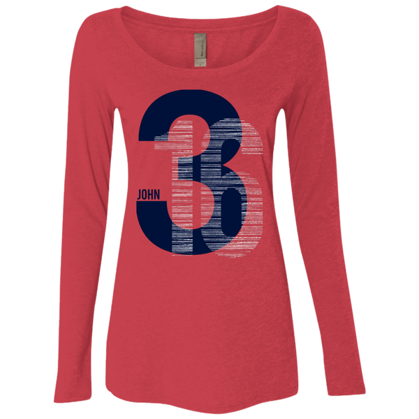 John 3:16 Ladies Long Sleeve - Shop Love God