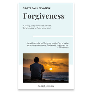 Forgiveness 7-Day Daily Devotion - Shop Love God