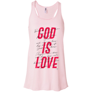 God Is Love Flowy Racerback Tank - Shop Love God