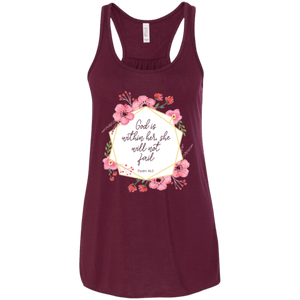 God Is Within Her Flowy Racerback Tank - Shop Love God