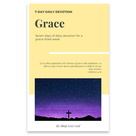 Grace 7-Day Daily Devotion - Shop Love God
