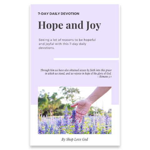 Hope and Joy 7-Day Daily Devotion - Shop Love God
