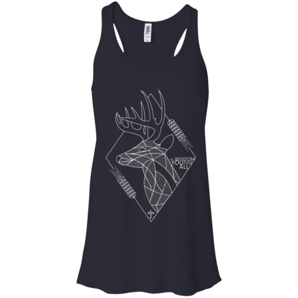In Wisdom Flowy Racerback Tank - Shop Love God