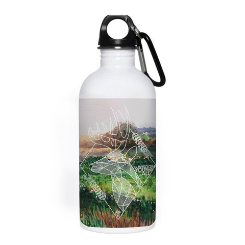 In Wisdom 20 oz. Stainless Steel Water Bottle