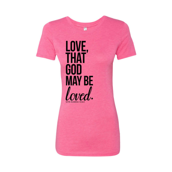 Love Ladies' Triblend T-Shirt