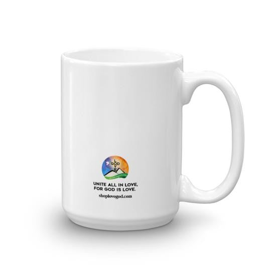 Mercy Triumphs Judgement White Mug - Shop Love God