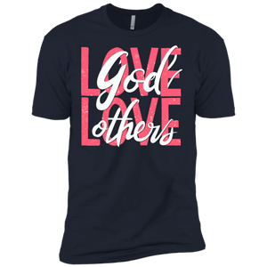 Love God, Love Others Premium Short Sleeve T-Shirt