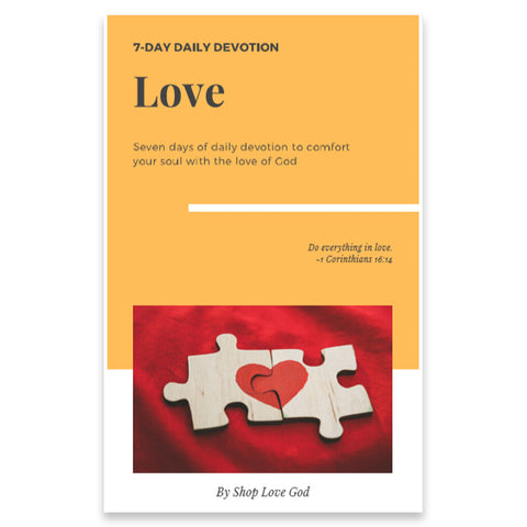 Love 7-Day Daily Devotion - Shop Love God