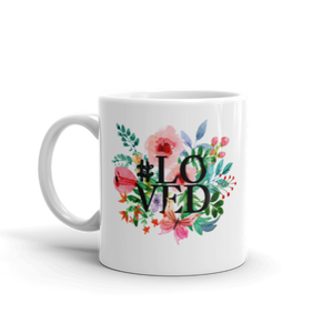 #Loved White Mug - Shop Love God