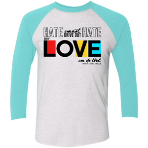 Only Love Can Unisex 3/4 Sleeve Baseball Raglan T-Shirt