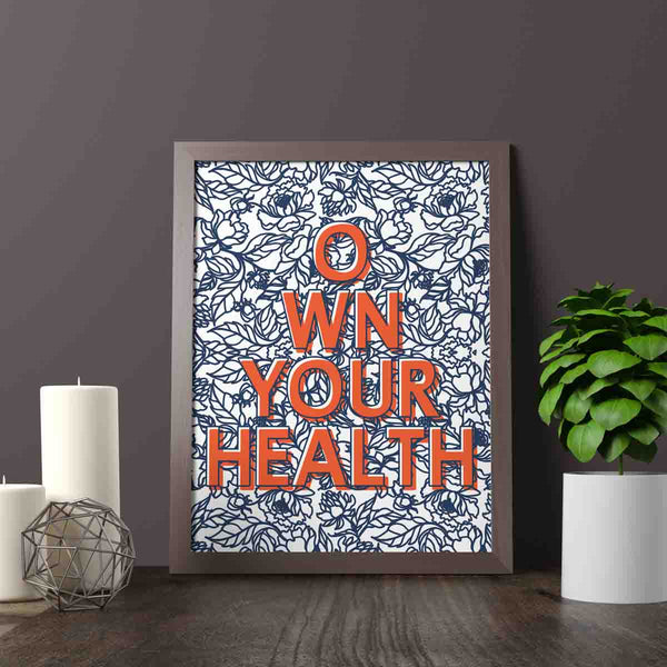 Own Your Health Printable Digital Wall Art - Shop Love God
