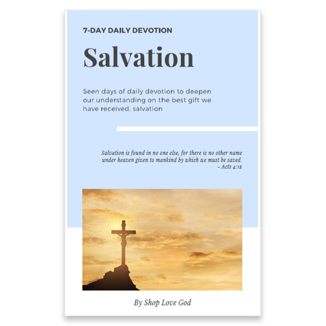 Salvation 7-Day Daily Devotion - Shop Love God
