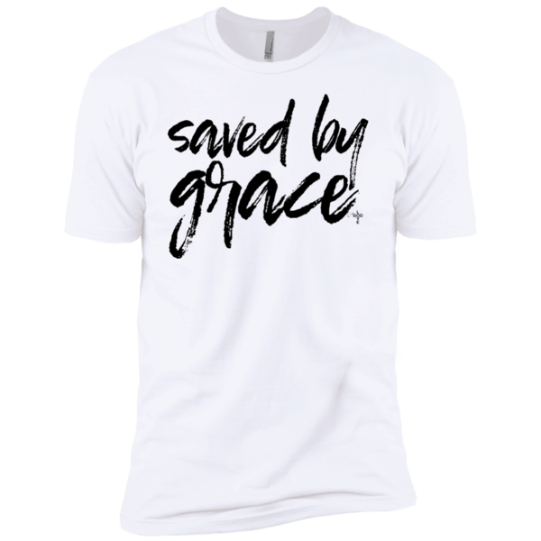 Saved By Grace Premium Short Sleeve T-Shirt