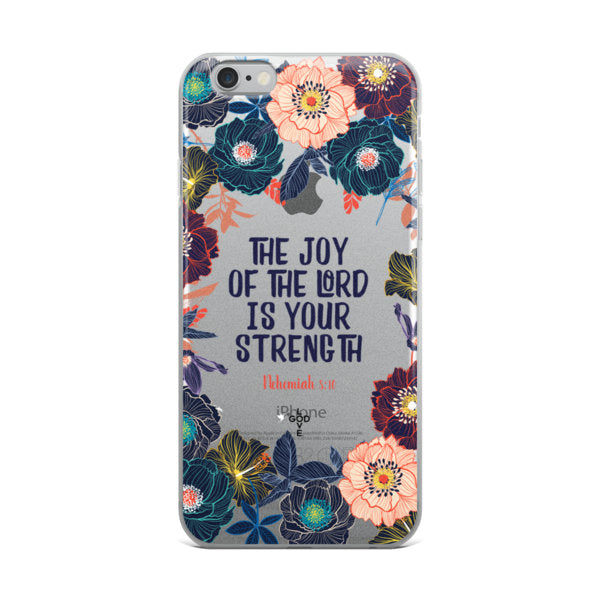 The Joy of The Lord iPhone Case - Shop Love God