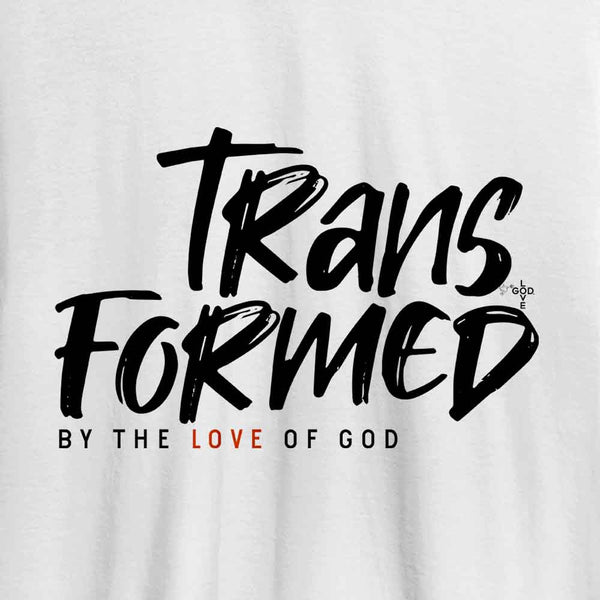 Transformed Unisex Heavy Cotton Tee - Shop Love God