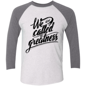 We Are Called Unisex 3/4 Sleeve Baseball Raglan T-Shirt