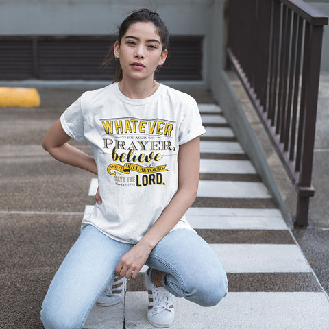 Whatever Unisex Heavy Cotton Tee - Shop Love God