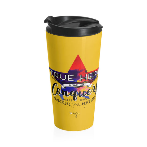 True Hero Stainless Steel Travel Mug