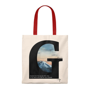 Greater Love Caryall Tote Bag - Shop Love God