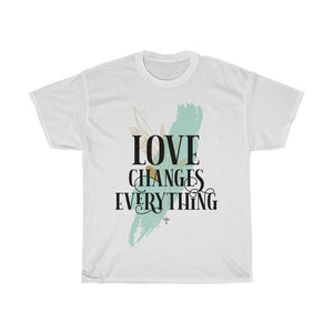 Love Changes Everything Unisex Heavy Cotton Tee - Shop Love God