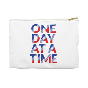 One Day At A Time Accessory Pouch - Shop Love God