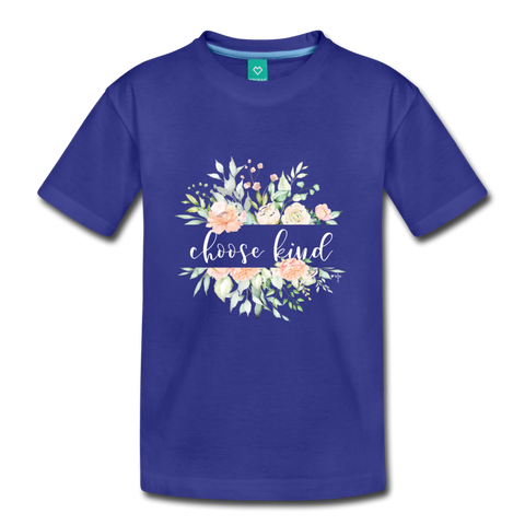 Choose Kind Toddler Premium T-Shirt - Shop Love God