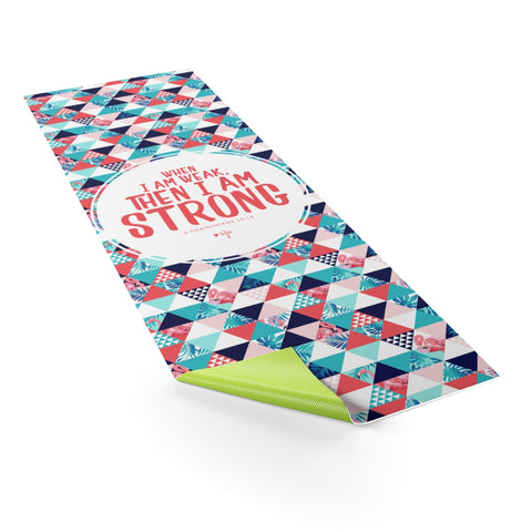 I Am Strong Yoga Mat - Shop Love God