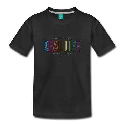 Real Life Toddler Premium T-Shirt - Shop Love God