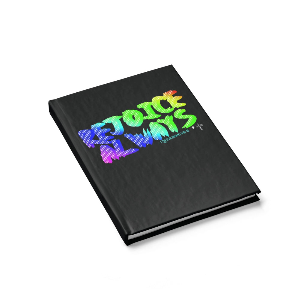 Rejoice Always Hardcover Journal - Ruled