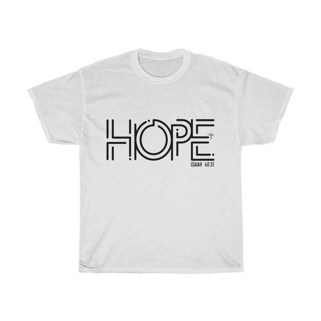 Hope Unisex Heavy Cotton Tee - Shop Love God